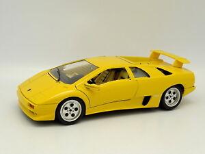 Burago 1 18 Lamborghini Diablo Yellow 4893993110049 Ebay