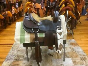 "15.5"" CALVIN ALLEN CUTTING SADDLE"