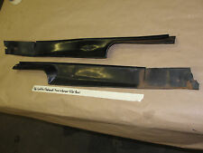 OEM 66 Cadillac Fleetwood TRUNK REAR BUMPER FILLER PANEL TRIM LEFT & RIGHT PAIR