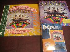 THE BEATLES MAGICAL MYSTERY TOUR JAPAN 2003 OBI LP/ BOOK T-SHIRT CD SINGLES DVD
