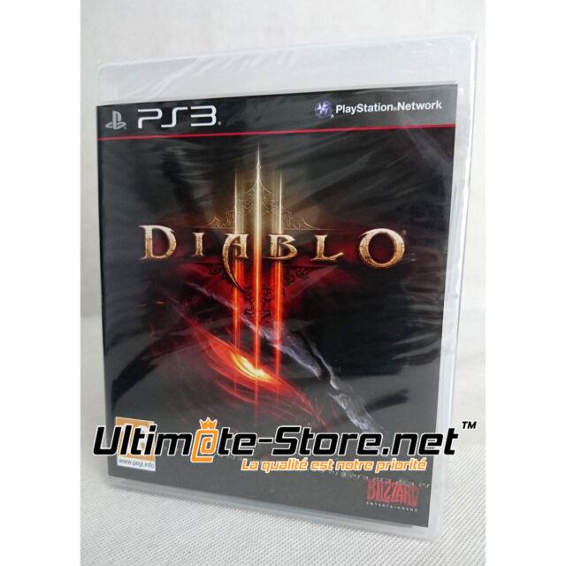 Jeu PlayStation 3 - DIABLO III - 3 - Neuf sous Blister Officiel PS3
