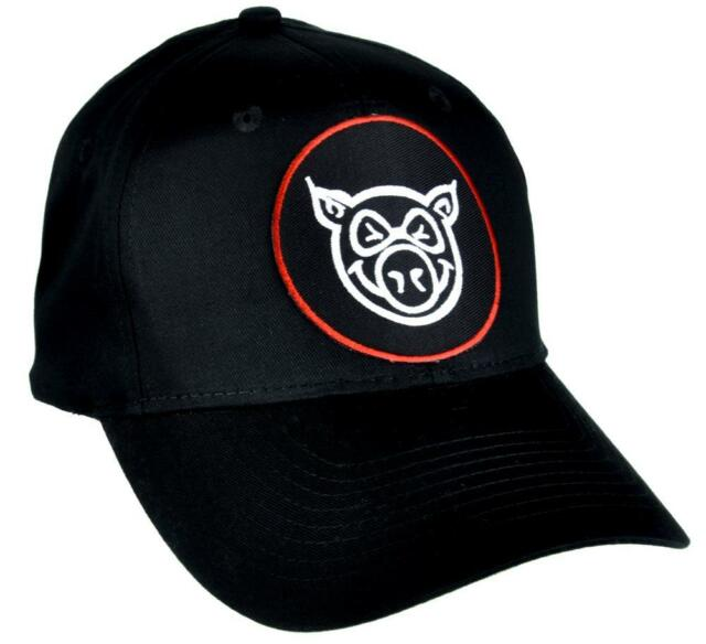 Angry Pig Hat Baseball Cap Alternative Clothing Famous Daves BBQ Foodie  Bacon 7a5d8bbd96f6