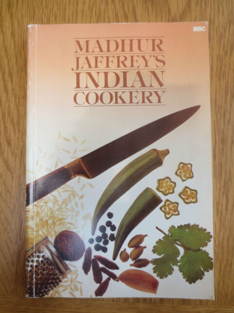 Madhur Jaffrey's Indian Cookery Book Curry Recipe Cooking Vintage