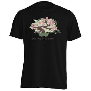 NEUF-CHERRY-BLOSSOM-Bonsai-Tee-Shirt-Homme-Tank-Top-l132m