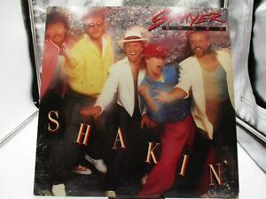 SAWYER BROWN SHAKIN' LP CAPITOL ST-12438 1985 VG+ cover VG+