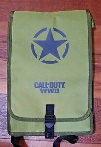 Call-Of-Duty-WWII-Folding-Backpack-Army-Green-BRAND-NEW-amp-RARE
