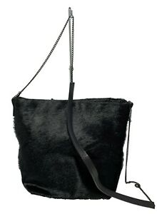 ANN-DEMEULEMEESTER-BLACK-GENUINE-FUR-CROSSBODY-BAG-1350