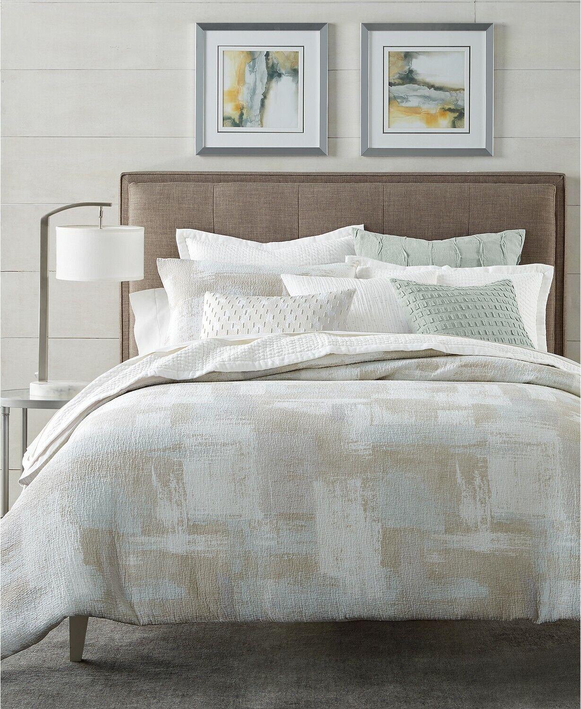 Hotel Collection Full Queen Duvet Cover Texturot Brushstroke E96007