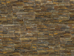 Details about ZClad - Rustic - Natural Stone Cladding - 3 24m² + 1 Bag Of  Adhesive