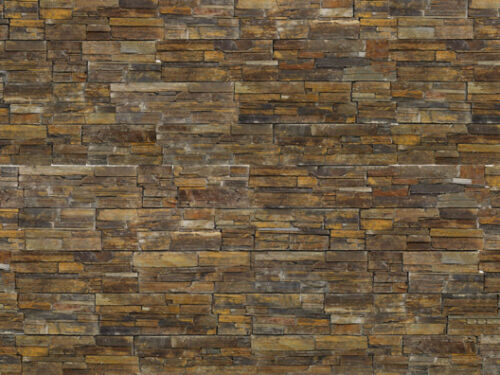 3.24m² Natural Stone Cladding Rustic 1 Bag Of Adhesive ZClad