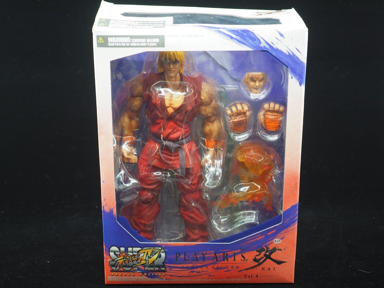 Play Arts Kai Street Fighter IV Arcade Edition  Ken