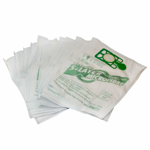Replacement Microfibre Vacuum Cleaner Bags for Numatic Henry Basil Hetty HVR200