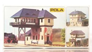 MINT-WEST-GERMANY-VINTAGE-POLA-562-HO-OO-KIT-OVER-TRACK-SIGNAL-BOX-TOWER