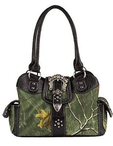 Concealed-Carry-Purse-Realtree-Camo-New-Green-Camouflage-Handbag