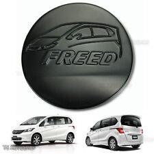 Matte Black Fuel Oil Cap Tank Cover Trim For Honda Freed 4D Hatchback 2010-2016