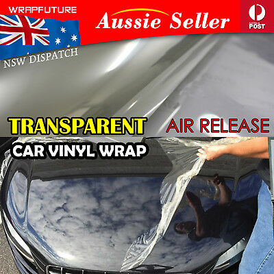 """Invisible 3M Protective Clear Vinyl Film Decal Non-chip Gloss Sheild DIY 6/"""" Roll"""