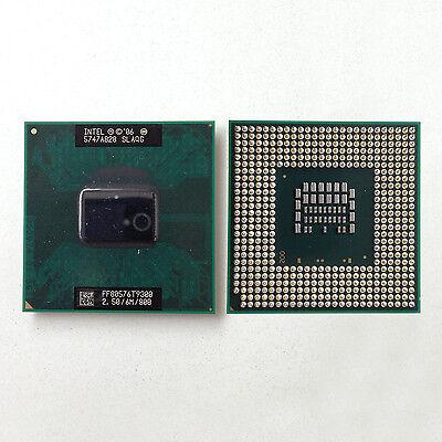 Intel Core 2 Duo T9300 2.5 GHz 6M 800MHz Dual-Core Mobile Processor Socket P 478
