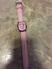 Rare Ladies Peanuts SNOOPY & WOODSTOCK Pink Watch NEW! Sealed Front/Back w/foil
