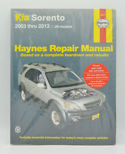 2003-2013 Kia Sorento Haynes Repair Service Workshop Shop Manual Book Guide 0468