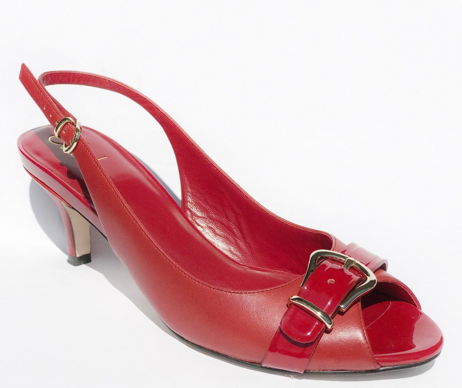 180 Cole Haan Air Lainey OT OT OT Slingback Leather schuhe damen rot 9 51d9fe