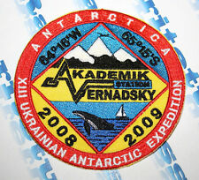 PATCH XIII UKRAINIAN ANTARCTIC EXPEDITION 2008-2009 STATION AKADEMIK VERNADSKY