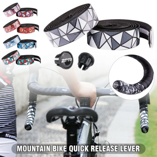 1 Paar Rennrad Fahrradlenkerband Versorgung Rutschfest Schweißabsorbierend