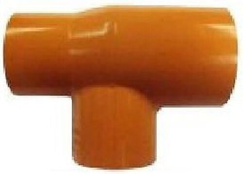 "BlazeMaster® CPVC  Orange Piping System 2/""  x 1/"" Reducing  Tee"