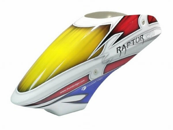 Raptor E700 V2 FRP dosel