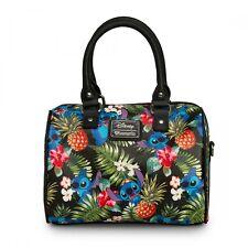 LOUNGEFLY Hangbag Bag DISNEY STITCH Purse HAWAIIAN PINEAPPLE Crossbody Duffle