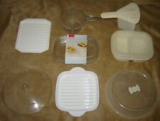 MICROWAVE ACCESSORIES: LAKELAND & CORNING WARE & FOODKEEPERS *NEW*