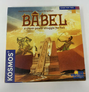 BABEL-Rio-Grande-Board-Game-Uwe-Rosenberg-Kosmos-Game-for-Two-2-Player-Complete