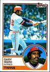 1983 Topps Gary Ward #517 Baseball Card