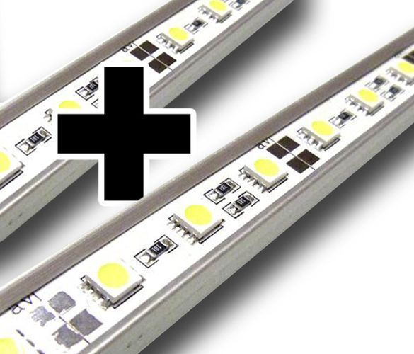 LED supplementari Bar per ab6 Acquario illuminazione 120cm luce diurna ab6-2 simulatore