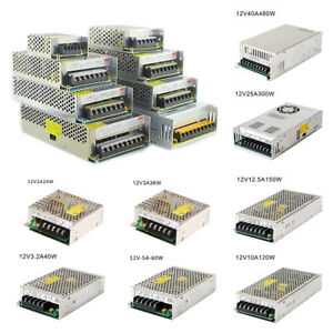 Strip-Light-LED-Switching-Power-Supply-AC-110V-220V-TO-DC-5V-12V-24V-Adjust