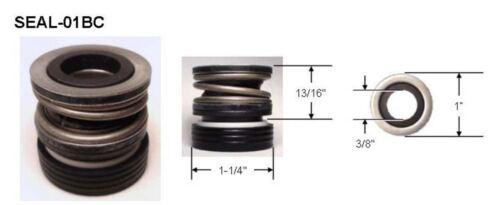 """Seal for Aqua-Flo pumps motors Spa pump SEAL assembly BUNA//CARBON 5//8/"""" #200 U.S"""