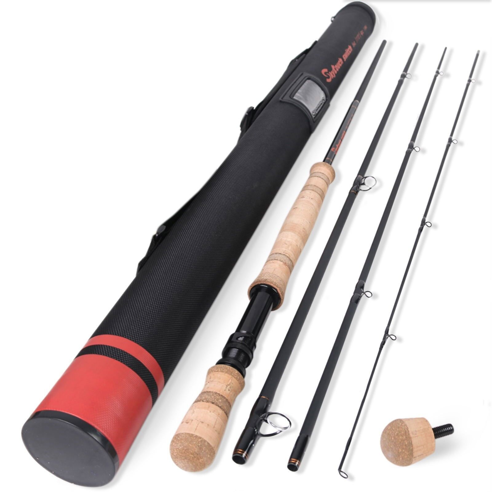 Skytouch Two-handed Switch Spey Fly Fishing Rods Rods Rods Fast Action IM10 Carbon Blank b23c81