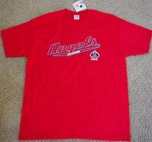 NEW ANAHEIM ANGELS T SHIRT XL MLB NWT LA CALIFORNIA RED MLB NWT  4a0f474c27e