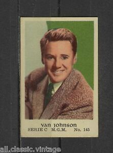 Van-Johnson-Vintage-Movie-Film-Star-Trading-Card-MGM-C-145