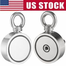 Round Double Sided Super Strong Neodymium Fishing Magnet 500700lb Pulling Force