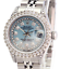 Womens-Rolex-Datejust-26mm-Blue-MOP-Diamond-Dial-Diamond-Bezel-1-90CTW-Quickset thumbnail 1