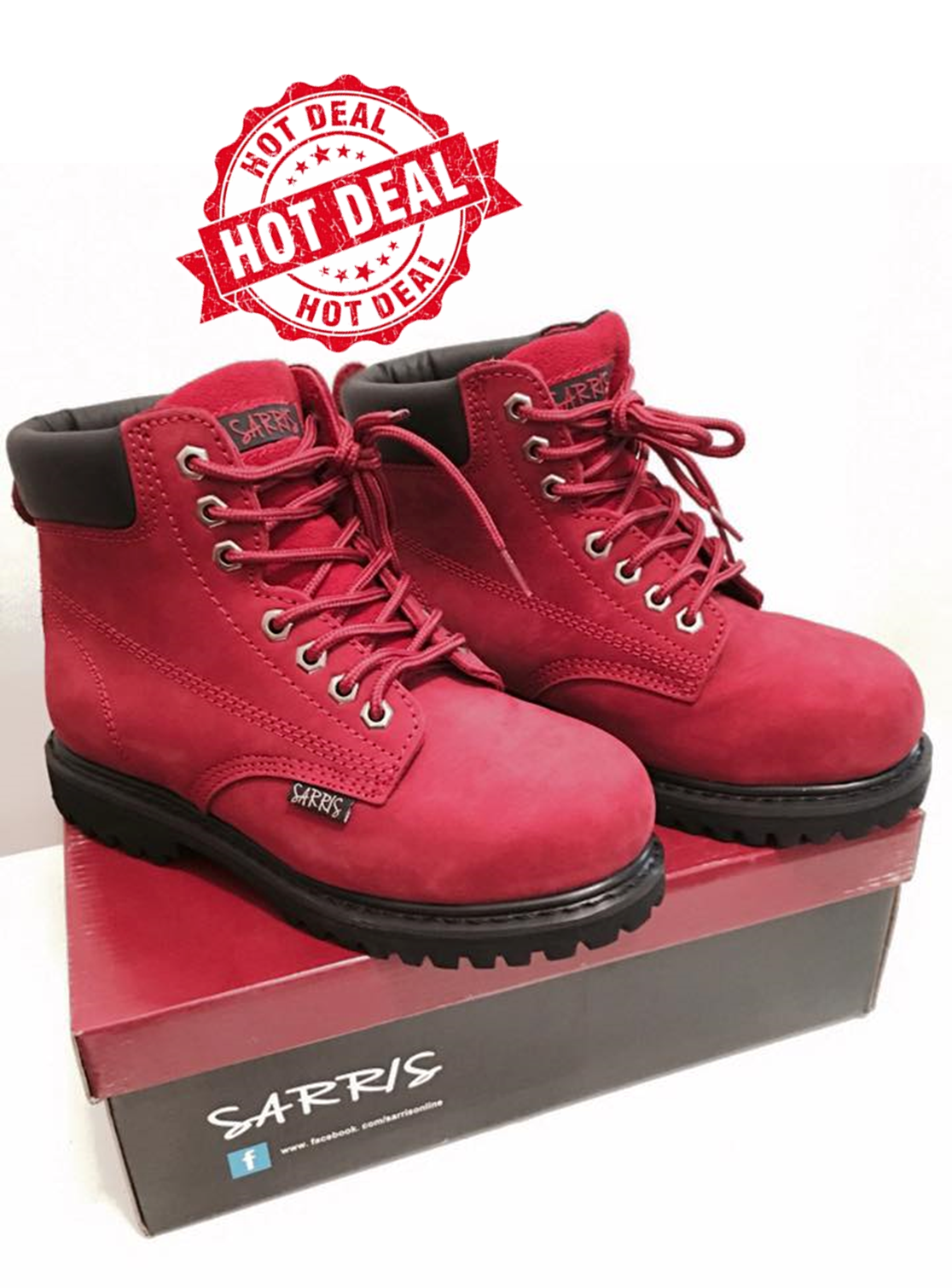 Ankle High Lace-Up Safety Boots WORK LACE UP STEEL TOE CAP ANTI SLIP LADIES MENS