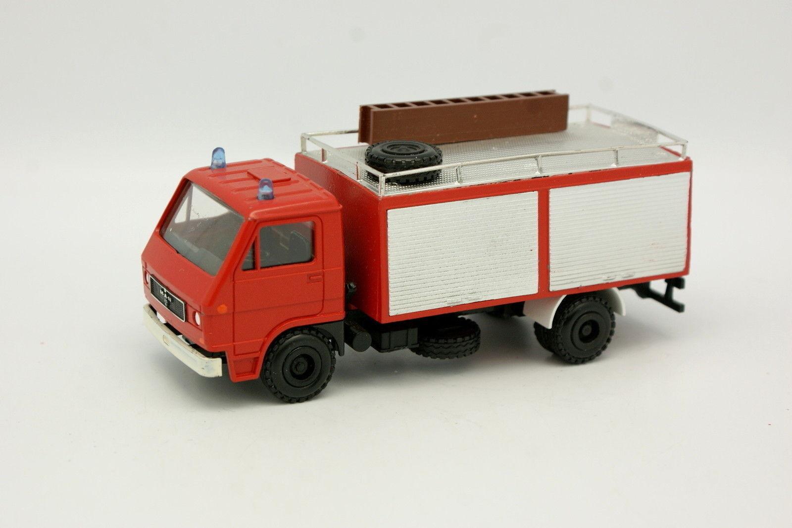 Conrad 1 50 - MAN VW 8 136F Vigili del fuoco Feuerwehr