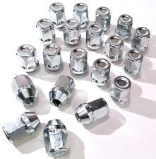 20 x Car wheel nuts bolts lugs. M12 x 1.25 - M12x1.25, 21mm Hex, Taper. Nissan