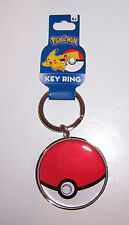 Licensed NINTENDO POKEMON POKE BALL POKEBALL KEY CHAIN Ring KEYCHAIN Fob NEW!