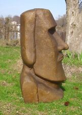 "Concrete Mold XLarge 32"" Moai Head  Easter Island Latex / Fiberglass"