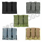 VISM NcSTAR Police Tactical SWAT MOLLE PALS Triple Pistol Magazine Holster Pouch