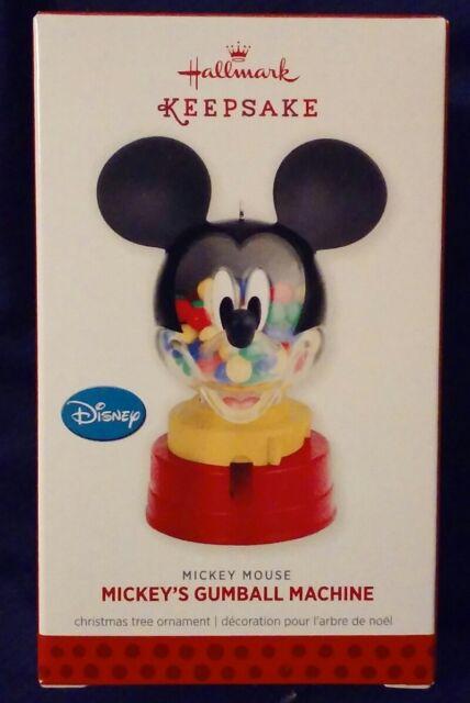 Hallmark Ornament: MICKEY'S GUMBALL MACHINE - Disney ...