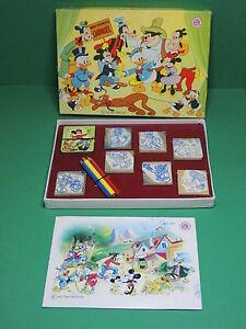 Jeu Timbres à Imprimer Tampon-encreur Walt Disney Mickey Plutot Multi-print