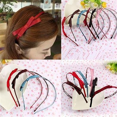 Women Fashion Cute New HairBand Barrette Hair Accessories Clip Bow Design