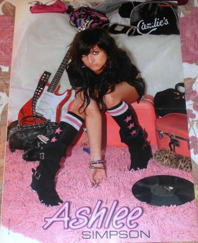 Magazine Vintage Poster Ashlee Nicole Simpson A3